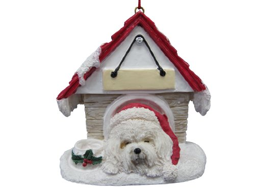 Bichon Frise Ornament A Great Gift For Bichon Frise Owners Hand Painted and Easily Personalized