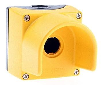 Siemens - Caja vacia 1 puesto mando tapa amarilla: Amazon.es ...