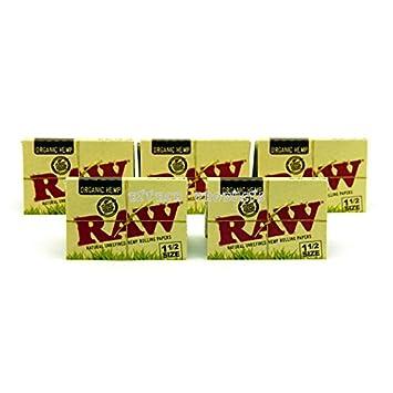 Amazon com: Raw Organic Hemp 1 1/2 Natural Unrefined Rolling