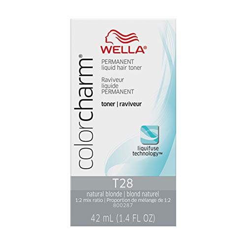 (Wella Color Charm Permanent Liquid Hair Toner (T28 Natural Blonde))