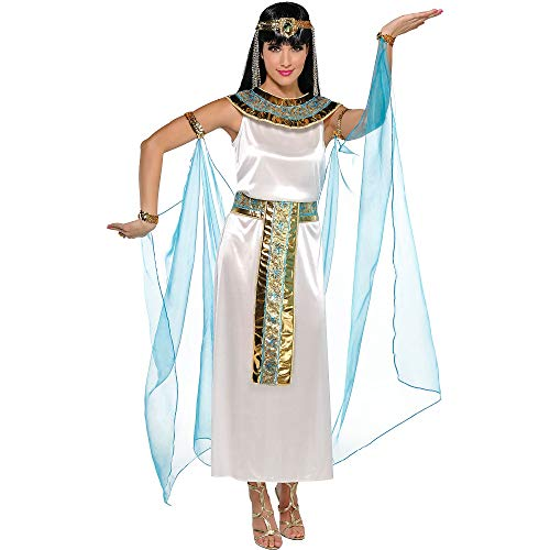 AMSCAN Queen Cleopatra Halloween Costume for Women, Small, with Included Accessories ()