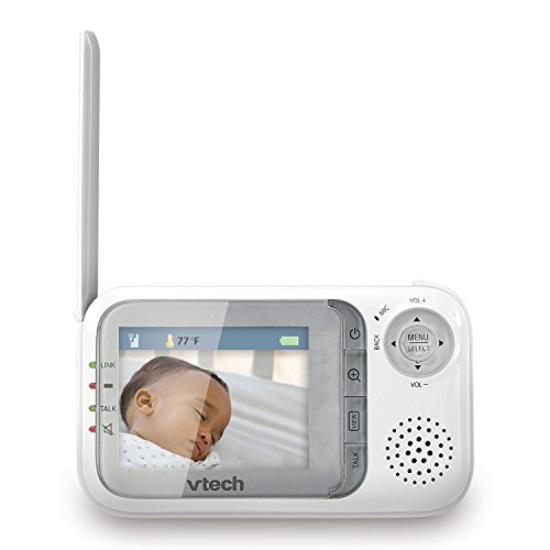 vtech vm321 safe sound video baby monitor with night vision baby video monitor reviews and. Black Bedroom Furniture Sets. Home Design Ideas