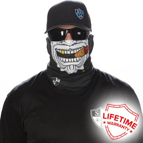 SA CO Official Gangster Face Shield, Perfect for All Outdoor Activities, Protects Face Against the Elements - Gangster Mask