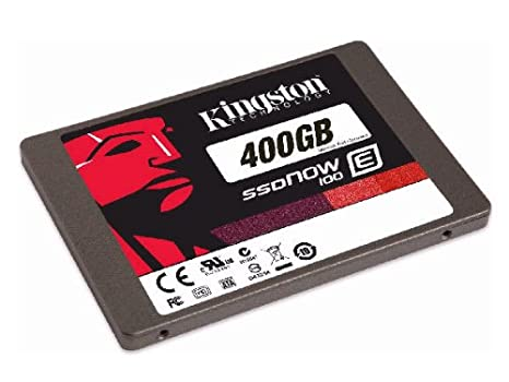 Kingston SSDNow E100 SATA 3 2.5 400GB Solid State Drive Components at amazon