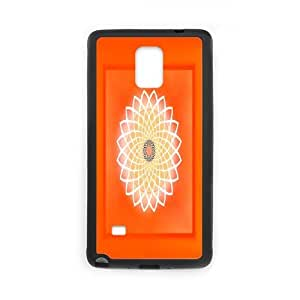 flower of life Design Unique Customized Hard Case Cover for Samsung Galaxy Note 4, flower of life Galaxy Note 4 Cover Case