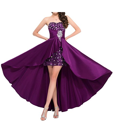 Sequins Angel Evening Prom Catching Grape Gowns Bride Party Dress Eye High Formal low ZxZSR