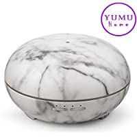 YUMU Naturals 300ml Essential Oil Diffuser Ultrasonic Cool Mist Aroma Humidifier JY1032 (Silver Dapple)