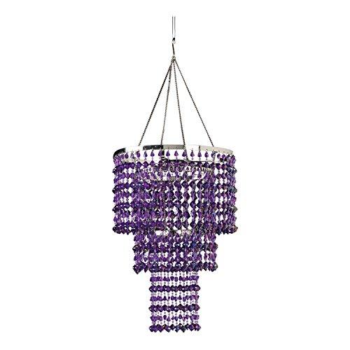 ZAPPOBZ HLL14 Gemstone Chandelier, Purple