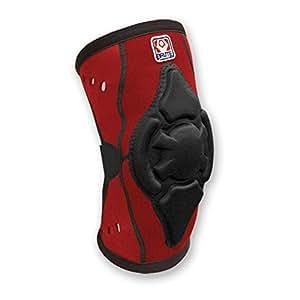 Brute Torq Wrestling Knee Pad - SIZE: X-Large, COLOR: Scarlet/Black