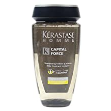 BRAND NEW KERASTASE HOMME CAPITAL FORCE BAIN CAPITAL FORCE ENERGETIQUE 8.5oz by pH7