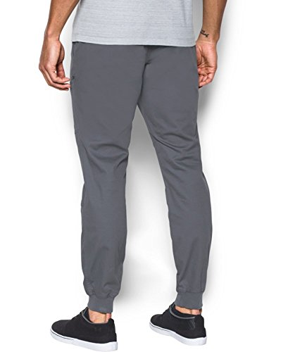 run shoes cheap prices fast delivery Under Armour Men's Performance Chino Jogger, Rhino Gray (076)/Rhino Gray,  36/34