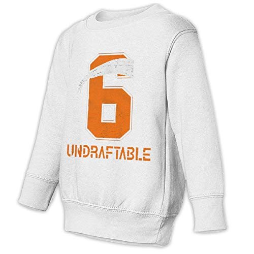 Youth Baker Undraftable Football Shirts Funny Mayfield Jersey 6rnPersonalizedrnSweatshirt Hoodie White