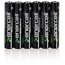 ENERCELL AAAA ALKALINE BATTERIES 2PACKS OF 6PC EACH TOTAL 12