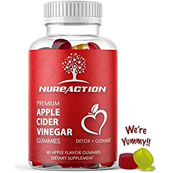 Amazon.com: Premium Apple Cider Vinegar Gummies With The