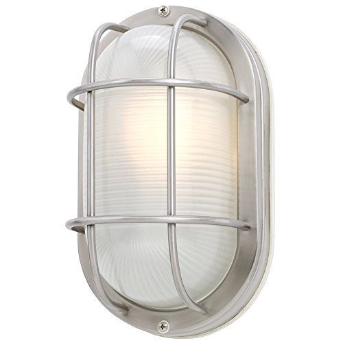 Bulkhead Wall Fixture - 11-Inch Oval Bulkhead Light