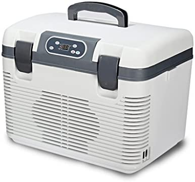 12V 19Lオートカー冷蔵庫|ミニトラベル冷蔵庫クーラーボックス多機能クーラーフリーザーウォーマー