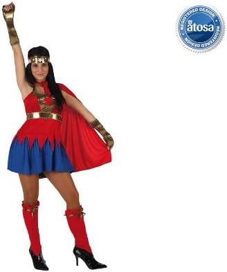 Desconocido Disfraz de superheroína para mujer: Amazon.es ...