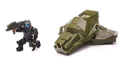 (Mega Bloks Halo Drop Pod Metallic Jungle ODST Toy Figure )