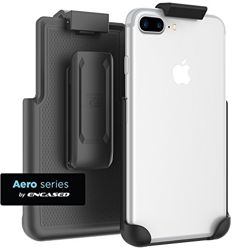 Encased iPhone 8 Plus Belt Clip (Case free design) ClipMate Rotating Holster for Apple iPhone 8 Plus 5.5