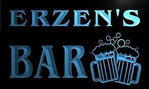 w077282-b ERZEN Name Home Bar Pub Beer Mugs Cheers Neon Light Sign
