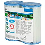 N/A/ Swimming Pool Cartridge Filter Replacement,Type A, Filter Cartridge Pump for Summer Waves Pools, Pack of 2/4/6/8/10…