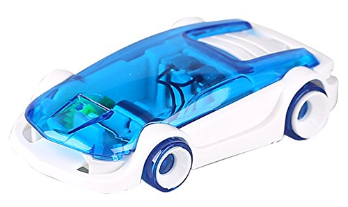 Gracefulvara DIY Salt Water Car Green Energy Educational Children Toys (4 Dollars Toys)