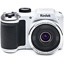 """Kodak PIXPRO Astro Zoom AZ251-WH 16MP Digital Camera with 25X Optical Zoom and 3"""" LCD Screen (White)"""