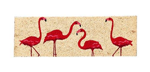 Evergreen Flamingos Kensington Natural Coir Interchangeable Switch Mat - 28.25
