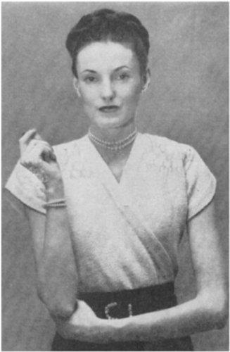 #1939 SURPLICE, SMOCKED YOKE VINTAGE KNITTING PATTERN -