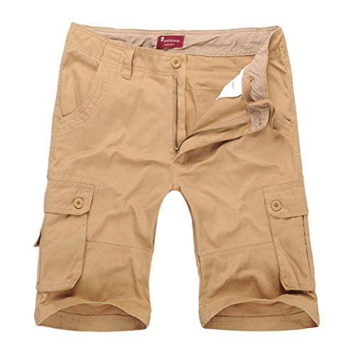 [해외] 액티브 카고 반바지 코튼 아웃 도어/Men`s Active Cargo Shorts Cotton Outdoor Wear Lightweight
