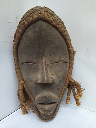 (Antique And Unique Dan Mask from Ivory Coast 10x6 in)