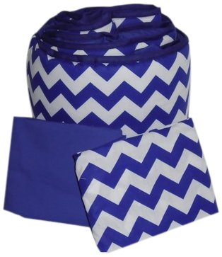 Baby Doll Bedding Chevron Grandma Pack, Plum by BabyDoll Bedding   B00LSJUQWE
