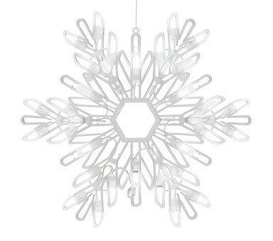 Celebrations Lighting LED Snowflake Silhouette ()