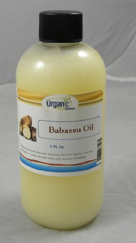 Babassu Oil - 100% Pure and Cold Pressed, Extra Virgin - Cusi Oil - Food Grade Oil also great for great moisturizer for Hair, Skin and Scalp - Great replacement for Coconut Oil - 8oz