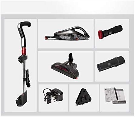 2 en 1 électrique à main Aspirateur sans fil 2000mAh Mute puissant vertical Accueil voiture Mini Aspirateur (Couleur: Blanc) LMMS (Color : Black) White