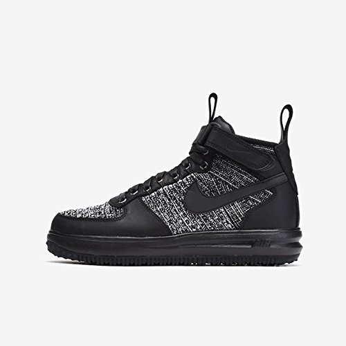 nike Womens LF1 Flyknit Workboot Hi Top Boots Trainers 860558 Sneakers (US 9.5, black white cool grey 001) by NIKE