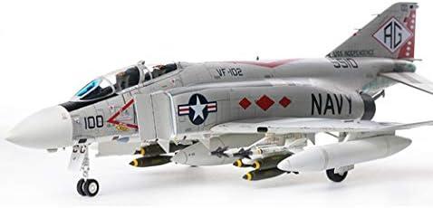 1/48航空機パズルモデル、軍用米F-4Jファイタージグソーモデル、子供のおもちゃとギフト