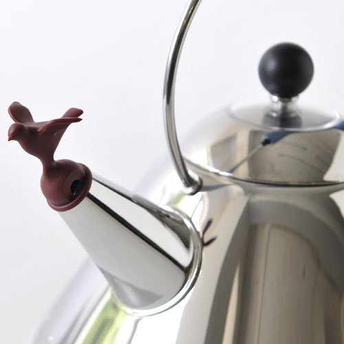 Alessi Michael Graves Kettle with Bird Whistle, Blue Handle by Alessi (Image #2)