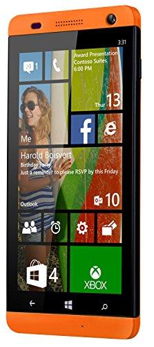 BLU Win HD W510L 8GB Unlocked GSM Windows 8.1 Quad-Core HSPA+ Phone - Orange