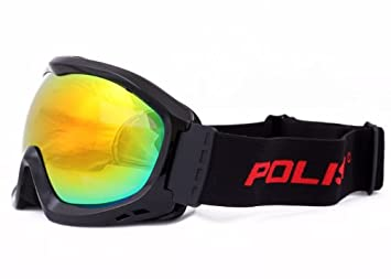 servizio duraturo qualità chic classico POLISI Motocross Occhiali da sci o snowboard, con lenti ...