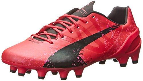PUMA Men's Evospeed 1.3 Firm Ground Soccer Shoe,Camellia Rose/Fluo Pink/Black,13 M US