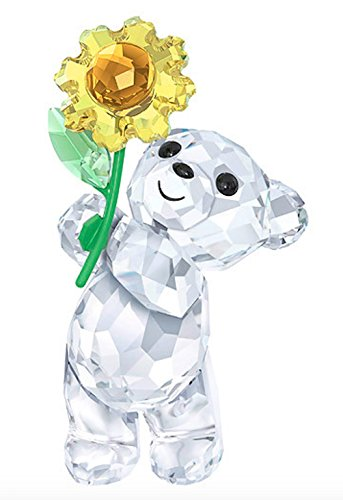 SWAROVSKI 5268764 KRIS BEAR A SUNFLOWER FOR (Swarovski Sunflowers)