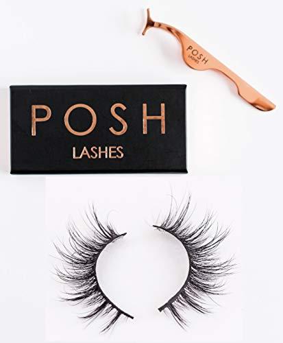 - Premium Handmade 3D Mink Fur Fake Eyelashes 100% Siberian False Lashes - Isabella Style