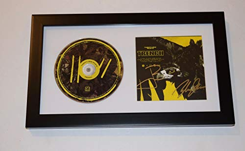TWENTY ONE PILOTS Signed Autographed TRENCH Framed CD Display COA