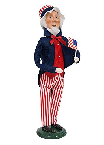 Byers Choice Uncle Sam Caroler Figurine ZSS09 from The Historical Collection