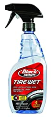 Black Magic Tire Wet is specially formulated to deliver the most brilliant shine of any leading tire spray available. With one gentle mist, your tires will have the ultimate long-lasting, wet, glossy black look. The unique combination of poly...