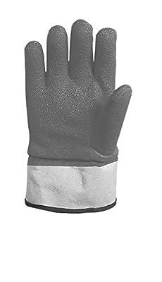San Jamar FGI-OR Insulated Freezer Safety Glove, One Size, Orange