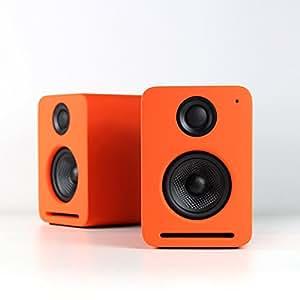 NOCS NS2-110US NS2 Air Monitors V2 Bookshelf Speaker (Contemporary Orange)