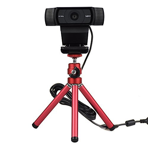 Lightweight Mini Webcam Tripod
