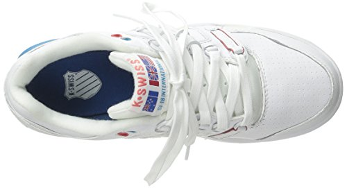 K-Swiss SI International-18-Chaussons pour femme Blanc Blanc